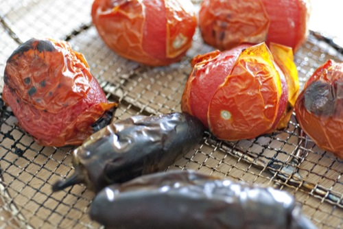 roasted-peppers-tomatoes